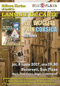 Lansare carte: Cu bicicleta prin Corsica