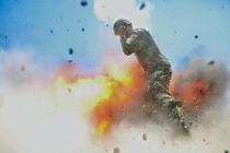 Ultima imagine luata de o fotografa militara inainte sa moara