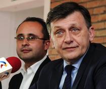 Crin Antonescu si Cristian Busoi