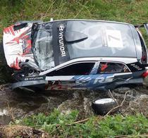 Accident la Transilvania Rally
