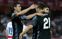 James Rodriguez si Alvaro Morata au adus victoria Realului