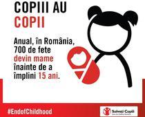 Mamele minore, o problema in Romania