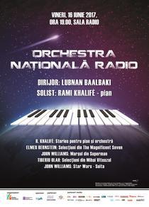 Muzica de film, la Sala Radio