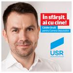 Catalin Drula, deputat USR si presedinte al Comisiei IT