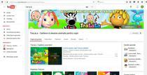 canalul de YouTube Tra la la