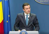 Sorin Grindeanu, conferinta la Guvern