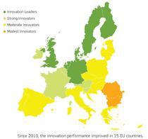 Romania, ultima la inovare