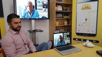 Mihai Rotaru, discutie video cu Andrew Pinnington