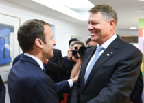 Emmanuel Macron si Klaus Iohannis