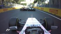 Vettel loveste monopostul lui Hamilton
