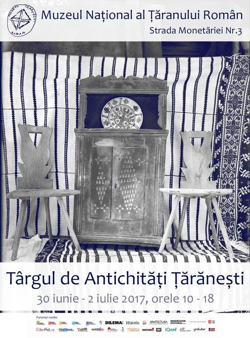 Afis Targ Antichitati Taranesti