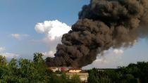 Incendiu in Balotesti