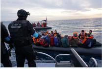 Operatiuni Frontex in Marea Mediterana
