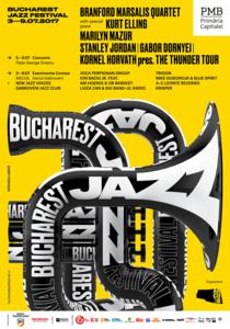 Bucharest Jazz Festival: 3-9 iulie 2017