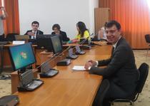 Ionut Misa in timpul audierilor pentru functia de ministru