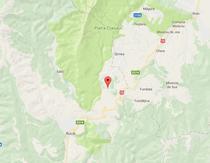 Camionul s-a rasturnat in localitatea argeseana Dambovicioara