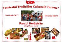 Festivalul Traditiilor Culturale Turcesti 2017 - afis