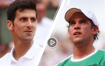 Novak Djokovic vs Dominic Thiem