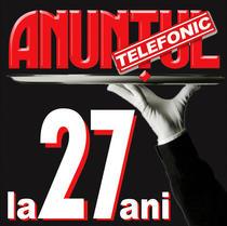 Anuntul Telefonic aniverseaza 27 de ani