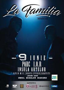 Afis concert La Familia