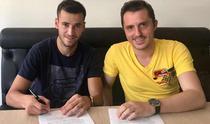 Bogdan Chipirliu a semnat cu Astra Giurgiu
