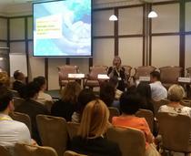 Imagine de la conferinta EY de miercuri