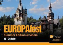 EUROPAfest Summer Edition -Sinaia 2017