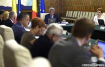 Guvernul Tudose in sedinta