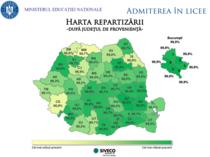 harta repartizarii