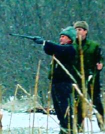 Ceausescu la vanatoare