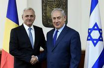Liviu Dragnea si Benjamin Netanyahu