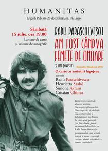 Eveniment Radu Paraschivescu la Lugoj