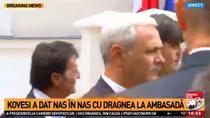 Kovesi si Dragnea, la Ambasada Frantei