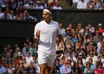 Roger Federer, in finala la Wimbledon