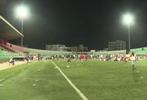 Incidente la un meci dintre echipele Ouakam si Stade de Mbour (Senegal)