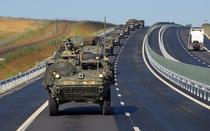 Marsul Cavaleriei SUA prin Romania