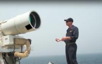 Arma laser pe o nava americana