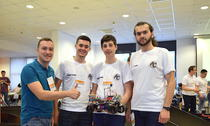 Adrian Mitrea si echipa BitBit Team la Electromobility 2017