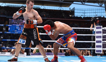 Jeff Horn si Manny Pacquaio
