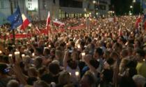 Proteste in Polonia contra noii legi a justitiei