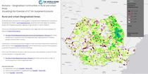 Aplicatie interactiva a Bancii Mondiale - comunitatile marginalizate din Romania