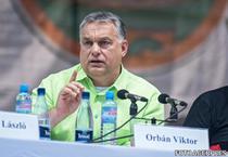 Viktor Orban la Baile Tusnad (foto arhiva)