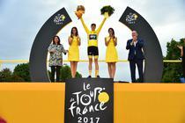 Chris Froome, castigatorul din 2017 al Turului Frantei