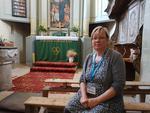 Gerhild Gross - organista din Viscri