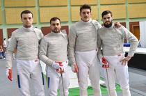 Echipa masculina de sabie a Romaniei