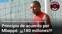 Mbappe, la Real Madrid