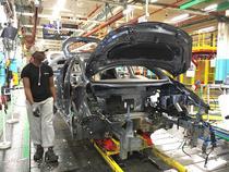 Renault Zoe Z.E. pe linia de fabricatie in Flins