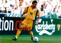 Gheorghe Hagi, in tricoul nationalei Romaniei