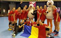 Echipa nationala de handbal feminin a Romaniei, medaliata cu argint la FOTE