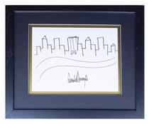 Schita orasului New York, semnata de Donald Trump